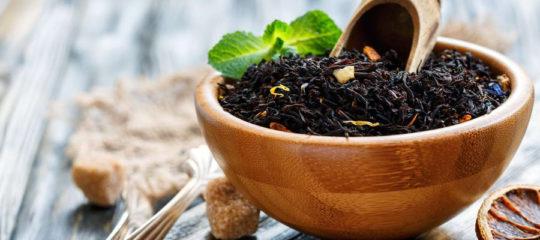 bergamote en thé